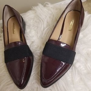 BCBG pointed loafer flats- shoes